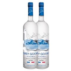 Grey Goose Twin Pack 2X1L