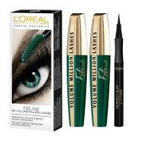 Volume Feline Mascara Duo & Super Liner Perfect Slim