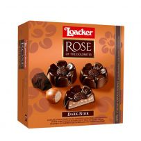 Loacker Rose of The Dolomites Dark Noir Chocolate