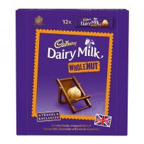 Cadbury Dairy Milk Whole Nut Box 540G