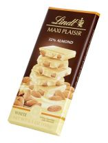Lindt Maxi Plaisir White Almond 150G