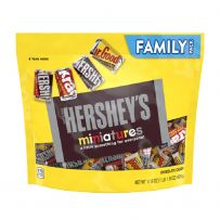 HERSHEY'S Miniatures Assortment Chocolate Pouch 498g