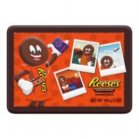 REESE'S Milk Chocolate Peanut Butter Cups Miniatures Candy Tin 198g
