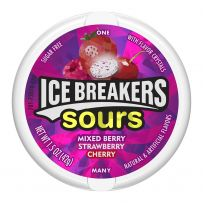 ICE BREAKERS Berry Sours Sugar Free Mints, 42g