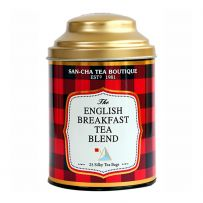 Sancha: Assam Breakfast Tea in Can (25 Silky TB) 50gms