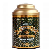 Sancha: Darjeeling Presidents Tea in metal caddy 100gms