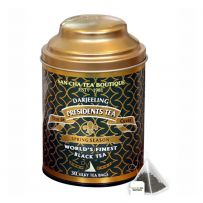 Sancha Presidents Tea Silky Tea Bags in Can (30TB) 60gms