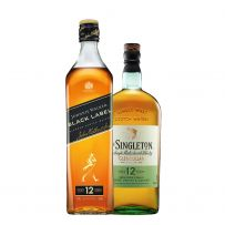Johnnie Walker Black Label and The Singleton of Glendullan 12 YO