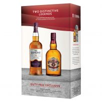 Chivas Regal 12 Year Old And The Glenlivet Triple Cask Matured