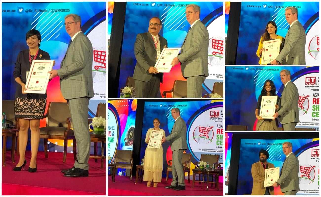 Delhi Duty Free captures awards for retail excellence and HR